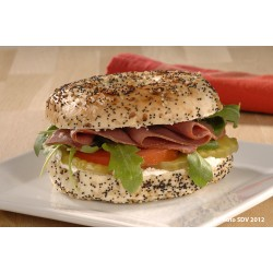 Bagel everything au pastrami