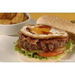 Burger oeuf à cheval