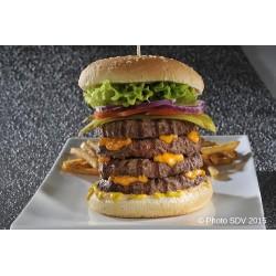 Four tower burger