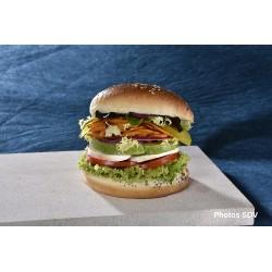 Burger gourmet legumes
