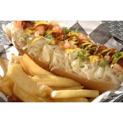 Hot dog French's et choucroute