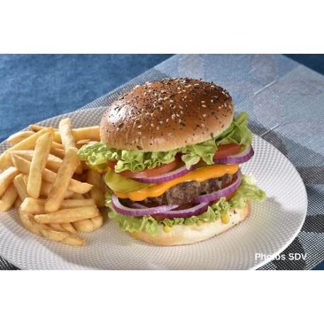 Burger cheese gourmet multigrains