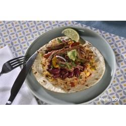 Taco boeuf et riz à la mexicaine