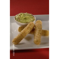 Sticks de mozzarella et guacamole
