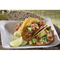 Tacos Crevette Cajun