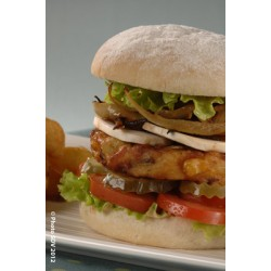 Burger bap aux légumes