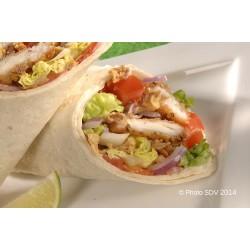 Wrap chicken caesar