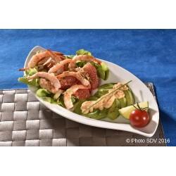 Salade Key West avocat crevettes