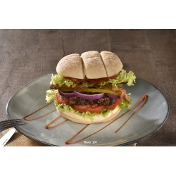 Burger baps premium angus bacon