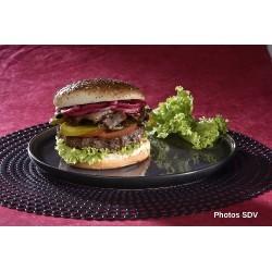 Burger gourmet beef brisket