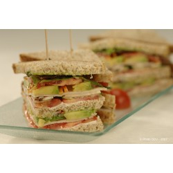 Club sandwich jambon/avocat
