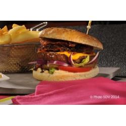 Burger bap chipotle angus