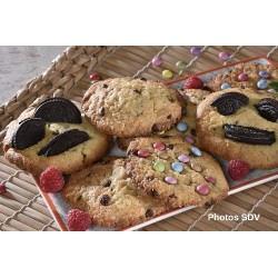 Cookies smarties et oreo
