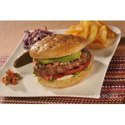 Burger bap jalapeno avocat