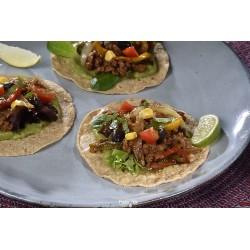 Taco vegetarian butcher
