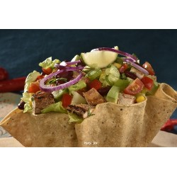 Corn taco salad