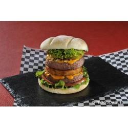 Double burger rosti BBQ