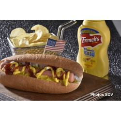 Authentic Hot dog French's